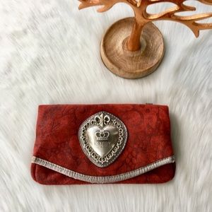 Kathy Red Wallet in amazing pre loved condition